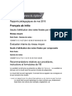 French Subject Report (English)