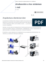 Tema 1 1 Arquitectura ClienteServidor