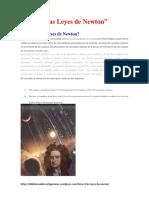 FISICA-Las Leyes de Newton
