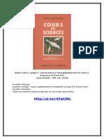 Boulet v., Obré a., Lazerges G. - Cours de Sciences, 6e
