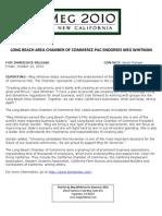 Long Beach Area Chamber Of Commerce PAC Endorses Meg Whitman
