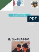 Il Linguaggio - psicologia generale
