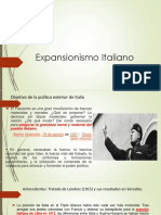 Expansionismo Italiano