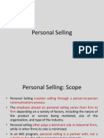 personal selling