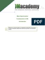 Fundamental Lc-ms Introduction