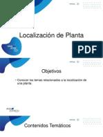 Localizacion de Planta 1