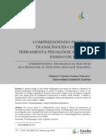 COMPREENDENDO PRÁTICAS TRANSLÍNGUES COMO UMA FERRAMENTA PEDAGÓGICA PARA O ENSINO DE LÍNGUAS