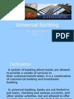 Universal Banking