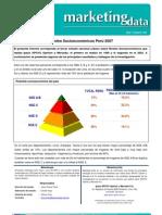 Analisis Socioeconomico Del Peru