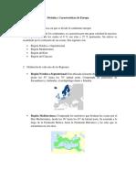División y Características de Europa.docx