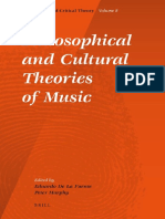 De La Fuente & Murphy - 2010 - Philosophical and Cultural Theories of Music