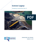 National Coal Ash Report Embargoed for 3.4.19
