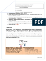 Sistemas Gestor de Base de datos-  creación, consultas, reportes.docx