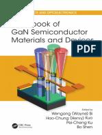 (Series in optics and optoelectronics (CRC Press)) Wengang (Wayne) Bi, Haochung (Henry) Kuo, Peicheng Ku, Bo Shen - Handbook of GaN Semiconductor Materials and Devices-CRC Press (2018).pdf
