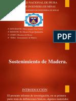 Sosteniemiento de Madera
