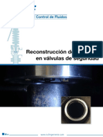 Reconstruccion de Boquillas de Valvulas de Seguridad