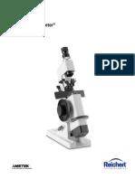 Manual de Lensometro ML-1