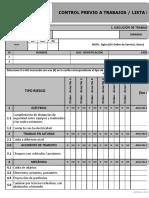 9-Ft-018 Ver 7 Control Previo a Trabajos Lista de Verificacion a Trabajos Reiterativos