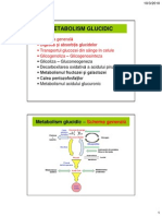 5 - Digestia Glucidelor.metabolismul Glicogenlui