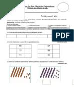 Cof Dos Prueba de Educación Matemáticas