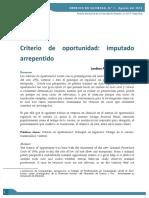 Madriz, Alanna - Criterio de Oportunidad Imputado Arrepentido