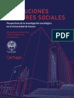 Instituciones y Actores Sociales. Perspectivas de la investigación sociológica en la Universidad de Sonora