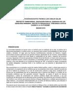 Version 2. Proyecto Gobierno Escolar