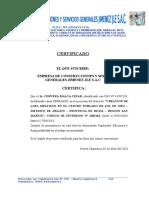 DALILAS CERTIFICADO