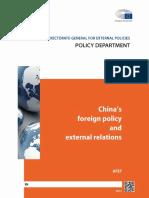 Politica Externa CHINA