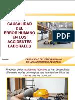 MUESTRA-CAUSALIDAD Del Error Humano en Los Accidentes Laborales