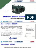 Motor Presentation Toshiba IEEE-841 ESP MANELSA Rev 0 181112MP