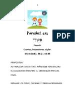 Parashat Pequdei # 23 Inf 6018