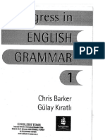 English Grammar Book - Progress in English 1