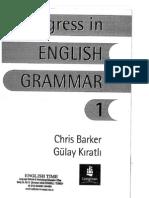 English Grammar Book - Progress in English 1