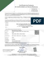 certificado de monomando alan 2019
