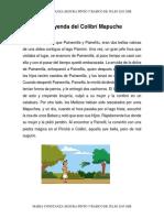 La Leyenda Mapuche