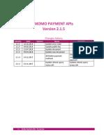 MoMo Payment APIs v2.1.5
