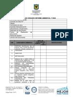 Anexo 10 - Lista de Chequeo Ambiental y Siso
