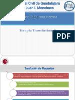 Terapia Trasfusional Plaquetas