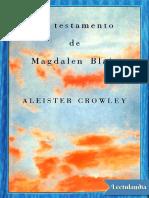 El testamento de Magdalen Blair - Aleister Crowley.pdf