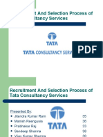 Recruitment and Selection Process of Tata Consultancy Services