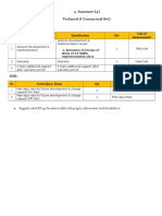 02. Annexure [2] Functional & Technical Requirements of S4 HANA Implementation