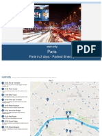 Paris in 2 Days Packed Itinerary