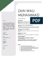 Zain Wali Muhammad