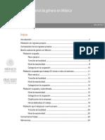 Estadísticas sobre brecha salarial por sexo en México 2015