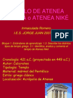 Templo de Atenea Niké. Inmaculada Romero