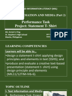Text Information and Media Part2