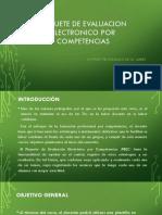 Paquete de Evaluacion Electronico Por Competencias