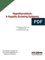 Hypothyroidism Mark Star 7-28-10