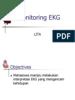 Monitoring EKG2FILEminimizer